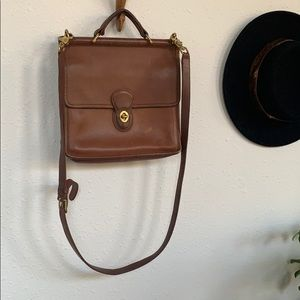 COACH VINTAGE WILLIS BAG Leather Crossbody